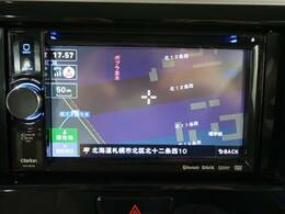【社外SDナビ】使いやすいナビで目的地までしっかり案内してくれます。CD/DVDの再生もでき、ミュージックサーバー内蔵です!お車の運転がさらに楽しくなりますね!!