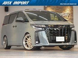 トヨタ アルファード 3.5 エグゼクティブ ラウンジ S 4WD 後期型 フルカスタム WSR 21AW 禁煙 1オナ