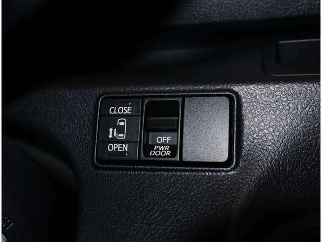 運転席からも左側のスライドドアの開閉可能です
