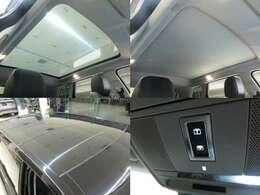 パノラミックルーフ(172,000円)は、後席まで広がるパノラミックルーフは遮るものがなく、開放的な車内空間を提供致します。