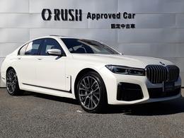 BMW 7シリーズ 740i Mスポーツ 新車保証継承対象車 本革 SR ナビ TV