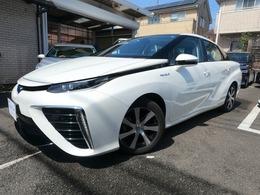 トヨタ MIRAI ベースモデル プリクラッシュセーフティ