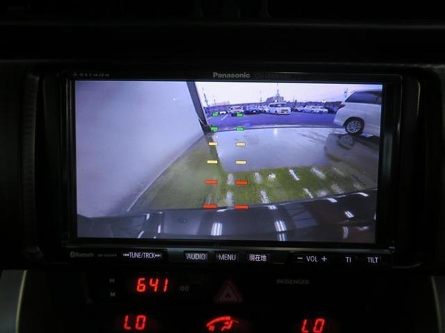 バックカメラ搭載、車庫入れの際に安心です。