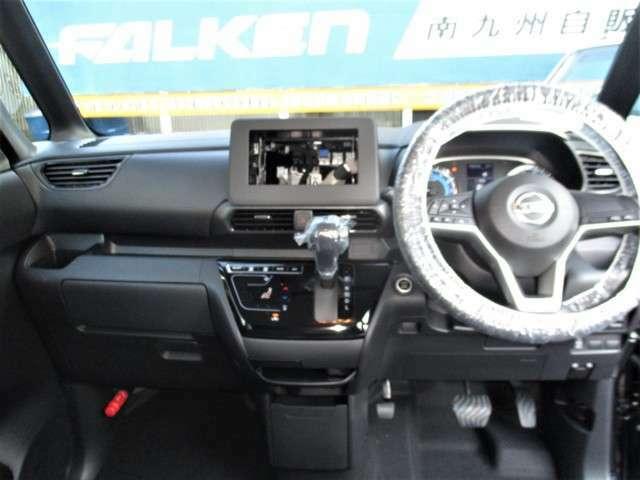 新車保証付き。お支払い総額に、新品フロアマット、ドアバイザー代を含んでおります。
