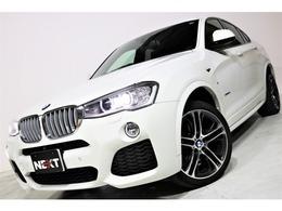 BMW X4 xドライブ28i Mスポーツ 4WD 禁煙車 黒革シート OP20アルミ