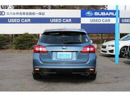 コの字型のテールランプは最近のSUBARU車の共通のアイデンティティです☆