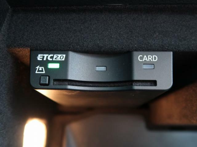 【ETCビルトイン】ETCは事前にセットアップを致しますのでご納車後すぐにお使いいただけます。
