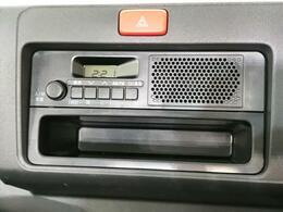 純正スピーカー内蔵ラジオ装備!これでドライブが楽しくなります