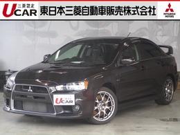三菱 ランサーエボリューション 2.0 GSR X プレミアム 4WD SST-Final 禁煙 革レカロ 純正SDナビ