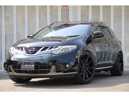 日産 ムラーノ 2.5 250XV FOUR 4WD シート革張替・VOSSEN22AW・車高調