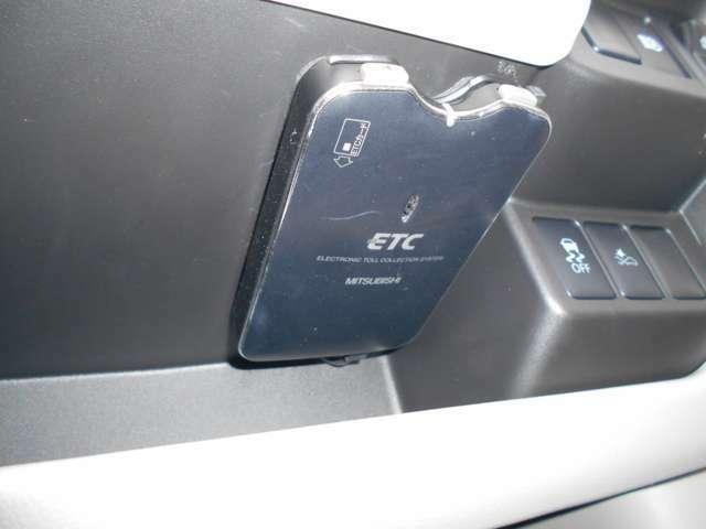 ETCも装備!高速道路の料金所もスイスイ通過◇ロングドライブの必需品です♪