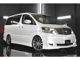 トヨタ アルファード 3.0 G MS 4WD Wサンルーフ 両パワスラ フリップダウンM