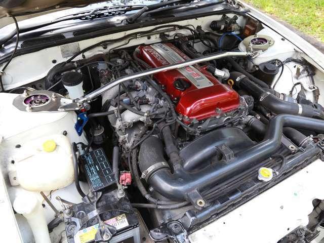 S15タービン&ARC純正置き換えインタークラー装着などライトチューン仕様。