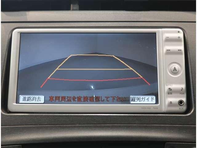 バックガイドモニターで搭載で、駐車場もラクラク安心!