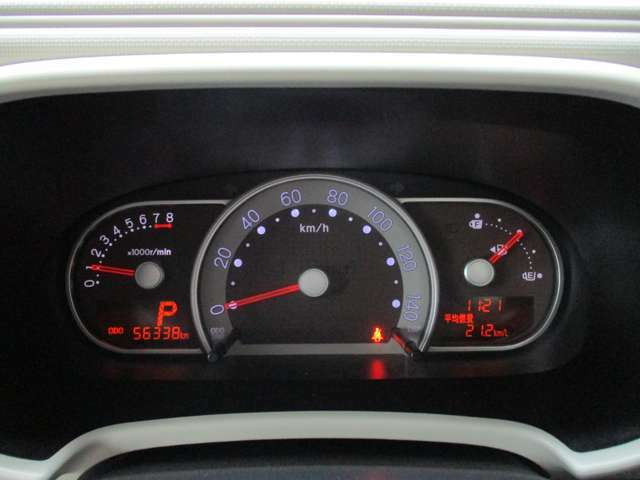 『燃費計/航続計/温度計』など、多機能メーター装備♪