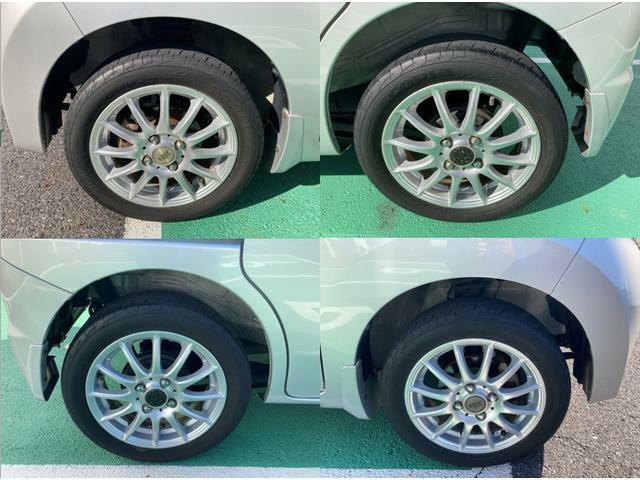 車の外観のポイントアップをするならアルミホイールは基本ですね!