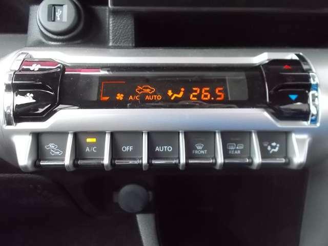 フルオートエアコン☆家庭のエアコンのように温度を設定するだけの簡単操作☆設定した温度に合わせて自動で風量や吹き出し口の調節をしてくれますよ☆温度は0.5度単位で調節ができるので快適な室内になりますよ☆