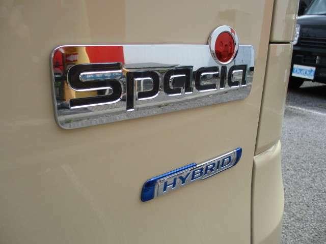 低燃費スペーシアHV