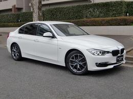 BMW 3シリーズ 320i ラグジュアリー 禁煙車 ナビ TV Bカメラ 地デジTV 黒革