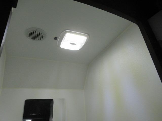 防水仕様でカセットトイレも設置可能なマルチルーム。