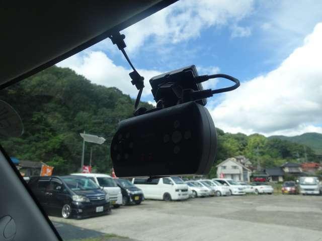 ドライブレコーダー搭載車!