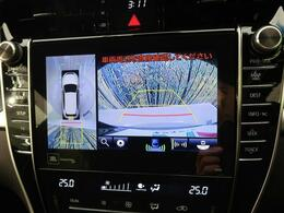 【全周囲カメラ搭載】上から見下ろしたような視点で車の周囲を確認することができます☆縦列駐車や幅寄せ等でも活躍すること間違いなし!!
