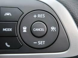 ●【全車速追従機能付きACC】走行中に先行車の様子を検知し、先行車との距離のキープを支援します。アクセルとブレーキの操作を支援してくれるので渋滞なども快適です。