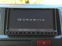 「クラリオンナビ」 クラリオンナビ付きで知らない土地のドライブも安心!CD、DVD、TVも楽しめます♪