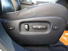 運転席・助手席パワーシート!!シートポジションの微調整が可能なのも◎