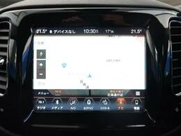 ●JEEP純正ナビ:高級感のある車内を演出させるナビです!