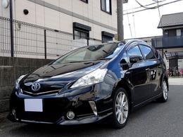 トヨタ プリウスα 1.8 S チューン ブラック 車検4年10月HDDナビ バックカメラ スマキー