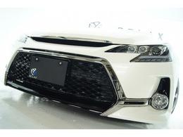 トヨタ マークX 2.5 250G 新品Gs仕様新品アルミ新品車高調3眼ライト