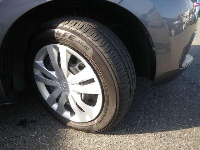 タイヤ残量もまだまだ大丈夫!