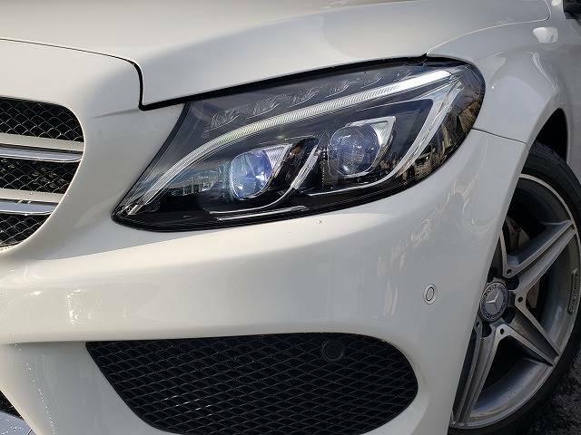 LEDヘッドライト】は視認性が高く安全です!また、見た目もかっこいいです!