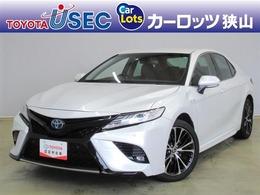 トヨタ カムリ 2.5 WS レザーパッケージ セーフティセンス 純正SDナビ 革シート