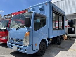 日産 アトラス オーダー型キッチンカー トラック キッチンカー オリジナルモデル