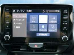 【オーディオシステム】純正オーディオシステム(Bluetooth、USB、Miracast)
