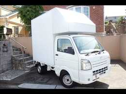 マツダ スクラムトラック 660 KC エアコン・パワステ キッチンカー 移動販売車 ケータリングカー