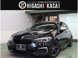 BMW 1シリーズ M140i エディション シャドー 特別仕様車 黒革 ナビ KW車高調 新車保証付
