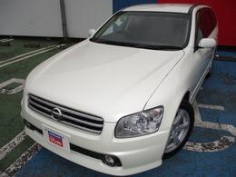 日産 ステージア 2.5 250t RS FOUR V エアロセレクション 4WD HDDナビ バックモニター ETC キセノン