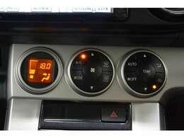 オートエアコン☆温度を設定するだけで車内はオールシーズン快適な状態に^^♪