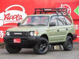 トヨタ ランドクルーザープラド 3.4 TX 4WD ナロー 丸目 Tベル交換済 ラック Rラダー