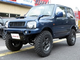 スズキ ジムニー 660 ワイルドウインド 4WD 社外マフラー/ヘッドライト/前後バンパー