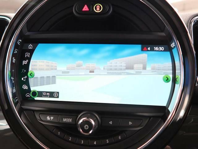 ●MINI純正ナビ:高級感のある車内を演出させるナビです!お手元のナビコントローラーにて操作して頂きます♪