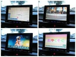 社外HDDナビが装備されております♪画面もクリアで見やすいです♪バックカメラ付♪ワンセグTVとDVDの視聴もお楽しみ頂けます♪ミュージックサーバーも搭載されておりますのでお好きな音楽を録音してください♪