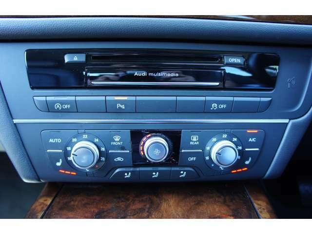 エアコンは左右独立で温度設定が可能!シートヒーター装備です!