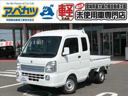 スズキ キャリイ 660 スーパーキャリイ X 3方開 4WD 届出済未使用車 3速オートマ 軽トラ