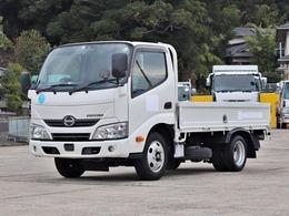 日野自動車 デュトロ 2t 平ボデー 全低床 TKG-XZC605M