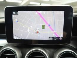 ●メルセデス・ベンツ純正ナビ:高級感のある車内を演出させるナビです!お手元にあるナビコントローラーにて操作をして頂くので簡単に操作できます♪