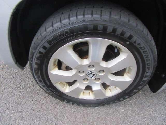 タイヤ残量もOK